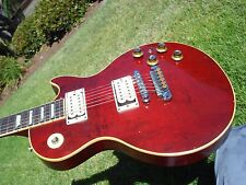 1977 Gibson Les Paul Deluxe Wine Red Vintage DiMarzio Pickups