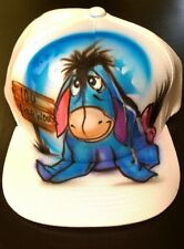 Winnie the Pooh eeyore hat - Airbrushed Personalized Hat
