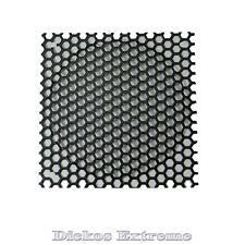 140mm Black Mesh Wire Fan Grill / Finger Guard, Hole diameter 6.3mm
