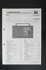 Grundig Satellite 700 mondo destinatario originale Service-Manual/diagram Top o31