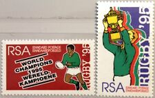 RSA SÜDAFRIKA SOUTH AFRICA 1995 960-61 Gewinn Rugby WM Win Word Cup Sport MNH