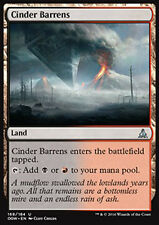 MTG 4x CINDER BARRENS - DISTESE DI CENERE - OGW - MAGIC