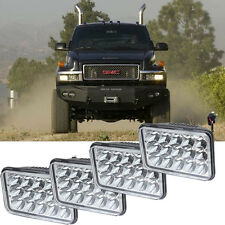 4Pcs LED Headlights For GMC C4500 and C5500 vehicles w/ dual headlights NEW