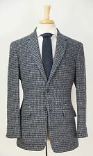 BROOKS BROTHERS 1818 Milano Harris Tweed Houndstooth Wool Blazer Jacket 40 R