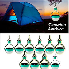 10x Portable Camping Lantern Solar Power Outdoor LED Power-Saving Night Light