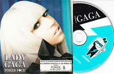 CD CARTON CARDSLEEVE 3T LADY GAGA POKER FACE FRENCH STICKER MADE IN FRANCE ONLY