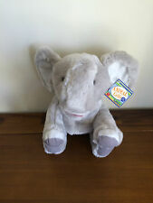RUSS Elephant Hand Puppet Soft Plush Toy Trumpet Sound