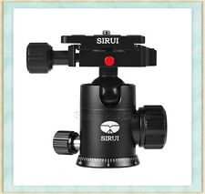 SIRUI G-10KX Professional Tripod&Monopod ball head with Fast mounting plate,G-10