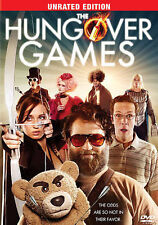 THE HUNGOVER GAMES (DVD, 2014, Unrated) New / Factory Sealed / Free Shipping