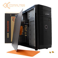 PC COMPUTER DESKTOP SEMI ASSEMBLATO AMD QUAD CORE X4/RAM 8GB/VGA 2GB GEFORCE