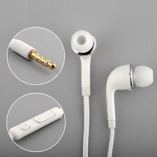 Hot High Quality Wired WHITE HEADSET HEADPHONES FOR SAMSUNG GALAXY S4 i9500
