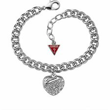 GUESS Armband / Handkette Bracelet Crystal Crush silber UBB70205 - UVP 69,90 EUR