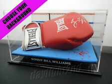 Signed SONNY BILL WILLIAMS Boxing Glove COA All Blacks Jersey 2017 World Cup