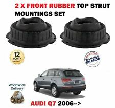 FOR AUDI Q7 4L 2006-  2X FRONT TOP STRUT SHOCKER RUBBER MOUNTING SET