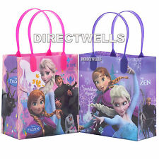 6 Pcs Disney Frozen Authentic Licensed Small Party Favor Goodie Gift Bags