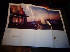 Ancien Catalogue Affiche PORSCHE 911 Carrera Coupé Cabriolet Targa Boxster Turbo