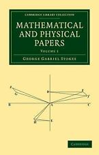 Mathematical and Physical Papers (Cambridge Library Collection - Mathematics)