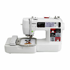 NEW BROTHER PE540D Embroidery Machine with USB Disney 70 Designs Mickey Mouse