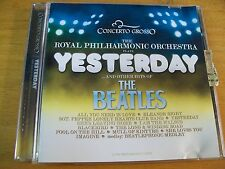 ROYAL PHILARMONIC YESTERDAY & THE HITS OF BEATLES CD