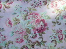 Robyn Pandolph SSI  Tickled Pink Tropical Floral Wild Roses on Pink- 90167 BTY