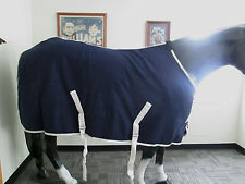 Grand Entry Horse Stable Sheet / Navy / 81""