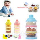Portable Baby Infant Feeding Milk Powder Bottle Container 3Cells Grid Box Newest