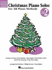 Christmas Piano Solos Book 2 HLSPL (Hal Leonard Student Piano Library)