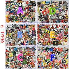 100Pcs Sticker Bomb Decal Vinyl Roll for Car Skate Skateboard Laptop Luggage NEW