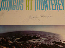 Charles Mingus at Monterey ~ SIGNED/AUTOGRAPHED 1964 JWS Private Press LP/vinyl