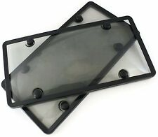 2 Qty Plastic License Plate Frames Cover Nismo 350z 370z G35 G37 Skyline