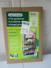 Gardman R687 4-Tier Mini Greenhouse, perfect for small spaces NEW