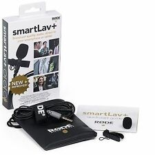 Rode Smartlav+ Omnidirectional Lavalier Microphone For Apple iPhone, iPad & i...