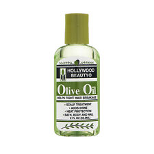 HOLLYWOOD BEAUTY Olive Oil Helps Fight Hair Breakage 2oz #5256