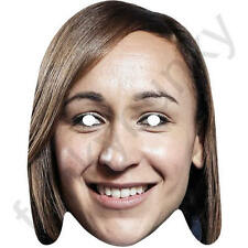Jessica Ennis GB Athlete Celebrity Sports Card Mask - All Our Masks Are Pre-Cut!