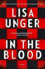 In the Blood by Lisa Unger (2014, Hardcover) 1ST TOUCHSTONE HC ED BRAND NEW