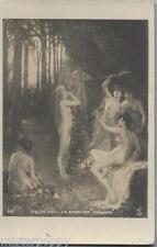 C. BEAUVERIE Tanagra NUDE Girls Nudo PC Salon 1906