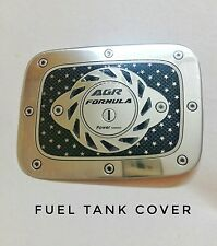 Universal Fuel Petrol Tank Chrome Looks Cover Fuel cap for SUV Safari Fortuner