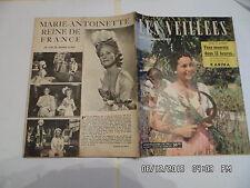 LES VEILLEES DES CHAUMIERES N°102 25/08/1956 MICHELE MORGAN ROMANS MODE     I94