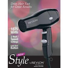 Revlon Style Basic Mid Size Travel Hair Dryer RVDR5034