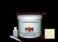 MOULDCRAFT OFF WHITE GELCOAT 250g kit  FOR FIBREGLASS moulds, resin boat repair