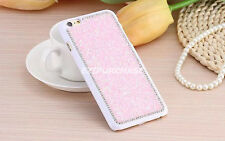 Sparkly Crystal Bling Glitter Hard Back Case Cover For iPhone 5 6 6s 7 Plus S001