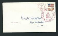 Air Marshal Sir Robert Victor Goddard signed cover RAF Senior Commander