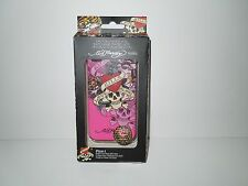 NIP Ed Hardy Icing Pink Love Kills Slowly Hardshell iPhone 4G/4S Cover