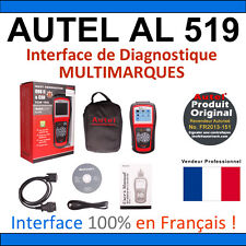 Interface Diagnostique AUTO MultiMarques - AUTEL AutoLink AL519 Valise DIAG OBD2