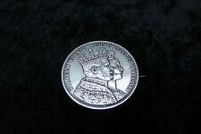 Joyas reales 1861 broche Wilhelm rey Augusta reina de Prusia krönungsthaler!