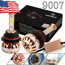 White COB 100W 10000LM 9007 HB5 LED Hi/Lo Dual Beam Headlight HID CONVERSION KIT