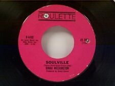 "DINAH WASHINGTON ""SOULVILLE / LET ME BE THE FIRST TO KNOW"" 45 MINT"