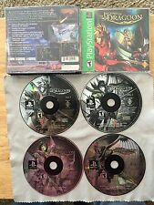 The Legend of Dragoon PlayStation 1 2 PS2 PS1 System Game & Box