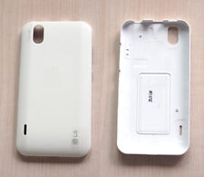 NEW OEM White Battery Door Back Cover Case For LG Optimus P970