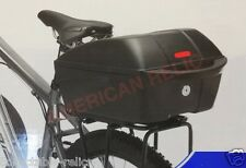 Carrier Locking Pannier Trunk Rack Rear Box Bike Bicycle Basket Securely Fixed A